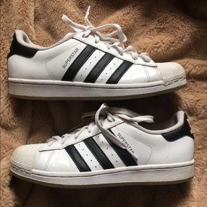 Adidas Superstar Ortholite in Black and White